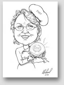 Gift Caricature by Michael Beickel