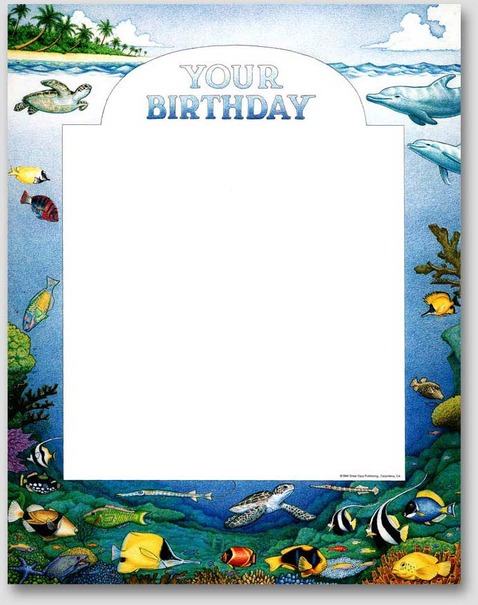 Calendar Illustrations for Birthday Express