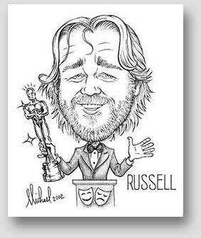 Celebrity Caricature by Michael Beickel